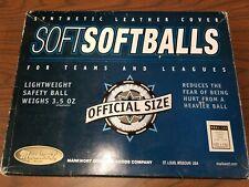 "Markwort Sporting Goods, Soft Softballs, Lightweight Safety Balls, 10"", 3.5 Oz"
