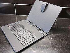 Clavier usb noir en cuir pu sacoche / support pour Onda v811 Android Tablette PC