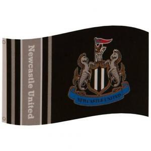 Newcastle FC Official Flag 5ft X 3ft Large Banner 152cm X 91cm Black