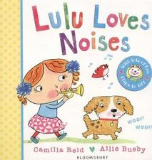 LULU LOVES NOISES - REID, CAMILLA/ BUSBY, AILIE (ILT) - NEW BOOK
