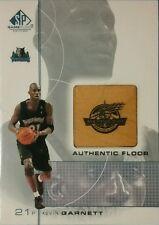 2000-01 Upper Deck SP Game Floor Edition KEVIN GARNETT #7 All-Star Floor Relic