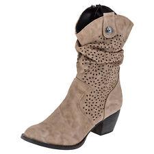 City Walk Damen Stiefel 577596 Stiefelette Winter Schuhe Biker Boots