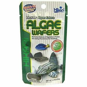 Hikari Algae Wafers 20g Fish Food for Plecos Bottom Feeders & Marine Herbivores