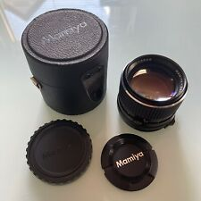 Mamiya Sekor C 110mm f/2.8 For M645 Camera With Case & Both Caps
