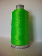 Polyneon No.40 1950 Grün fluoreszierend Pantone®: 375C 802C 1000 m Stickgarn Neu