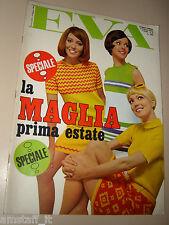 EVA=1968=OLGA VILLI=JULIETTE GRECO=NINO MANFREDI PAMELA TIFFIN=RIVISTA MODA=