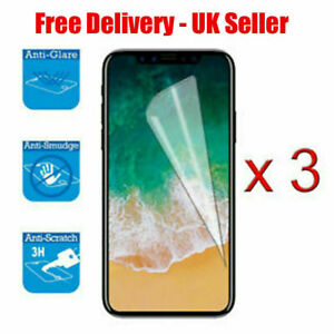 3x Screen Protector Cover Guard Film For Apple iPhone 6/6s/7/8 4.7 INCH UK