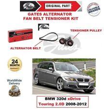 Gates COURROIE VENTILATEUR ALTERNATEUR Kit tendeur pour BMW 320d XD rive Touring
