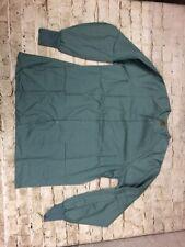 Fashion Seal Healthcare Long Sleeve Scrub Jacket Medium Green Snap Front Unisex