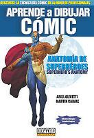 Aprende Dibujar Comic: Anatomía Superhéroes. ENVÍO URGENTE (ESPAÑA)