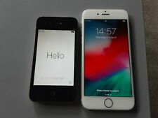 Apple iPhone 6 - 16GB - Silver (iD Mobile) A1586 (CDMA + GSM) + 4s