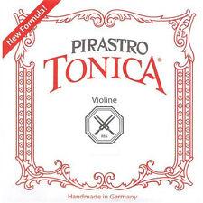 PIRASTRO VIOLIN STRINGS TONICA SET MEDIUM GAUGE QUICK UK DISPATCH RRP £29.99