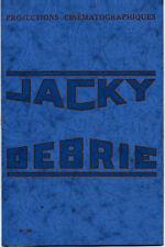 PLAQUETTE de présentation et d'emploi du projecteur JACKY DEBRIE - 35 mm - NEUVE