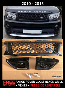 BLACK EDITION FIT AUTOBIOGRAPHY RANGE ROVER SPORT GRILL+VENTS 2010-2013