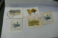 5 Barbados postage stamps philately philatelic kiloware postal Caribbean