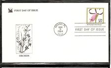 US SC # 2078 American Orchids ( Spreading Pogonia ) FDC. Readers Digest Cachet