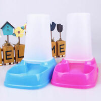 Pet Portion Control Dog Cat Automatic Feeder Dispenser Tray Water Foo Meal Y7R7