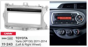 Car Stereo Radio Fascia Panel Trim Kit 2Din Frame for TOYOTA Yaris(XP130) 11-243