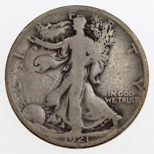1921-D 50C WALKING LIBERTY SILVER HALF DOLLAR
