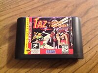 Taz in Escape From Mars (Sega Genesis, 1994) Tested - Cart Only