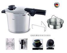 """Fissler: olla a presión cocina vacío """"Vitavit Comfort"""" 8 litros. (cm.26)"""