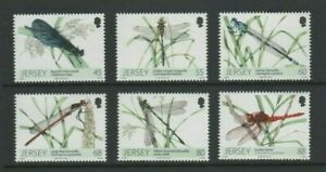 Jersey 2013 Dragonflies and Damselflies Mint MNH Set