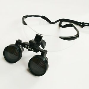 """New Surgical Dental Medical 2.5X Loupes 19"""" 500mm Optical Glass Loupe Dentistry"""