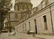 Paris, les Invalides, hôpital des paraplégiques Vintage silver print