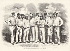 CRICKET TEAM ENGLISH CRICKETERS THE ELEVEN OF ALL ENGLAND George Parr's XI 1859