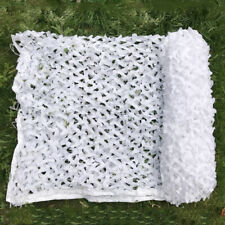 Snow White Camo Net Camouflage Netting Hunting Outdoor Camping Cover Decoration
