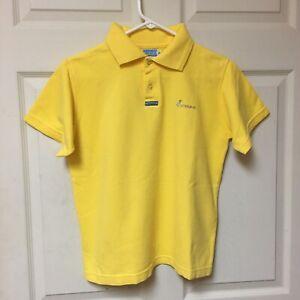 Ushuaia Ibiza Short Sleeve Classic Fit Polo Yellow Size Small