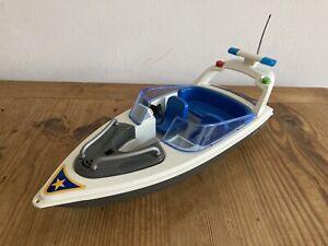 Playmobil Motorboot Polizei