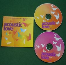 Acoustic Love Bob Dylan Jeff Buckley Damien Rice Jewel Jackson Browne + 2 x CD