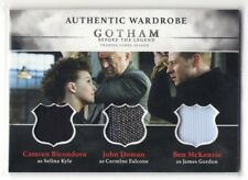 GOTHAM Season 1 Selina Kyle Carmine Falcone James Gordon Triple Costume Card TM1