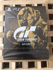 Gran Turismo: Sport Steelbook Edition (Sony PS4) BRAND NEW