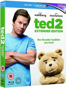 TED 2  - EXTENDED EDITION - BLU RAY - NEW & SEALED a