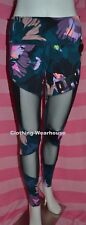Victoria's Secret PINK Bonded High Waist Ultimate Legging Mesh Tropical Palm XS