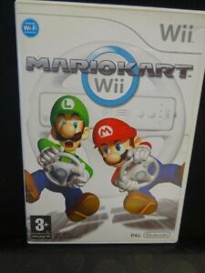 Wii Mario Kart Nintendo Game - Race & Battle Up To 12 Players PAL VERSION