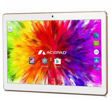 "ACEPAD A96 10 ZOLL [9.6""] TABLET PC 48GB 3G QUAD CORE IPS HD DUAL SIM GPS - 2017"