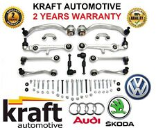 ^ KRAFT SUSPENSION CONTROL ARMS SET Audi A4 A6 VW Passat B5 C5 SUPERB WISHBONES