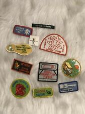 Vintage Girl Scout Patches Lot of 11
