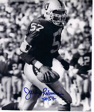 Jerry Robinson Oakland Raiders Signed 8x10 Photo