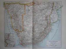 Antique map South Africa Zuid Afrika Kaapkolonie 1905