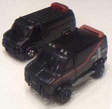 Miniature kidco & ERTL THE A-Team Vans Play worn Free Shipping