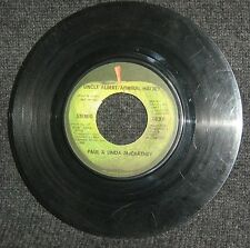 "Paul, Linda McCartney-Uncle Albert (Admiral Halsey)/Too Many People Apple 7"" VG-"