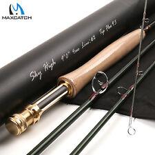Fly Fishing Rod 6WT 9' 4Sec Graphite IM12 Toray Nano Carbon Skyhigh Tip Flex 9.5