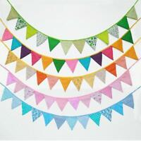 Triangle Flag Pennant String Banner Bunting Festival Wedding Party Decor BL