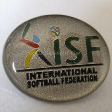 2017 International Softball Federation Pin