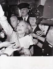 Marlene Dietrich à Londres Original Vintage 1965