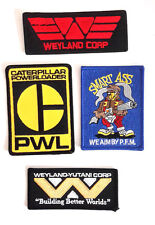 "ALIENS Movie Weyland Yutani  Embroidered Patch Set of 4-  3-4"" (ALPA-SET-4N)"